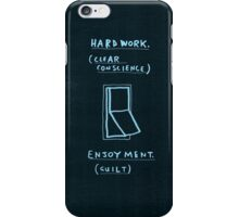 Either / or iPhone Case/Skin