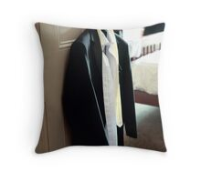 The Suit Throw Pillow