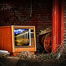 Garage TV. by Jeff  Wiles