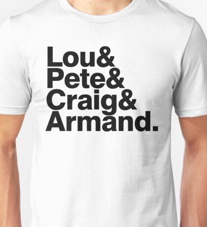 Sick of it all member list ampersand shirt Unisex T-Shirt