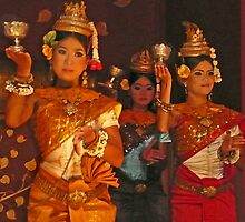 Apsara Dancers by Courtney Goddard