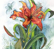 A SPECIAL LILY by Marsha Woods