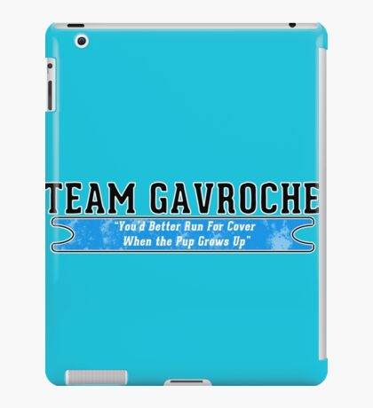 Team Gavoche iPad Case/Skin