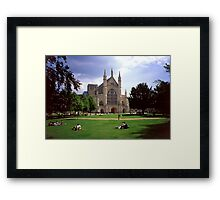Winchester Cathedral 6 Framed Print