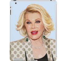 Joan Rivers  iPad Case/Skin