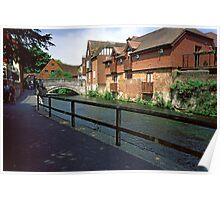 Riverside, Winchester Poster
