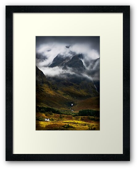 Blaven and malevolent weather. Isle of Skye, Scotland. by PhotosEcosse