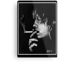 Death Stick Metal Print