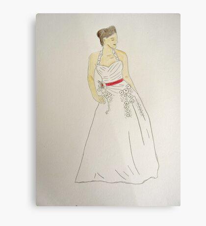 Wedding Dress No 5 Canvas Print