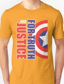for Truth and Justice T-Shirt