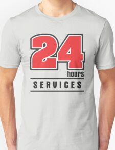 24 Hours Services T-Shirt