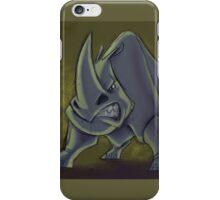 Huffing Rhino iPhone Case/Skin