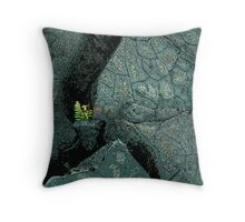 Lava Regrowth Throw Pillow