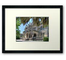 Southern Mansion Framed Print