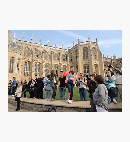 The Tourists (Windsor, 2014) Photographic Print