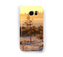 29.12.2014: Winter Morning at Torronsuo National Park Samsung Galaxy Case/Skin