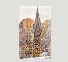 Travelsketch- Church in Hallstatt, Austria T-Shirt