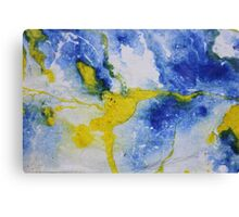 Paper marbling  Canvas Print