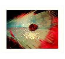 Red Waterdrop. Art Print