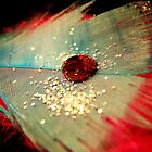 Red Waterdrop. by Katherine Davis