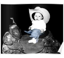 Baby Cowgirl Poster