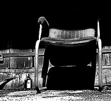 Lock, Gin and Chair Being Eaten by Shadows by NawfalNur