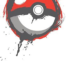 Grunge Pokeball by Wizards