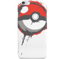 Grunge Pokeball iPhone Case/Skin