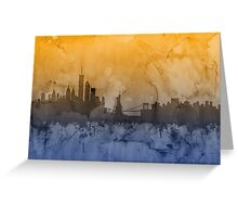 New York Skyline Greeting Card