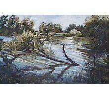 Flooding on Queenscliff Lagoon Photographic Print