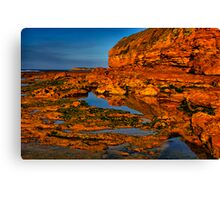 """Shoreline Reflections"" Canvas Print"