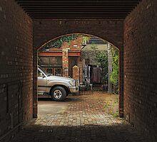 Fremantle Courtyard by Murray Swift