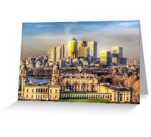 Greenwich Naval College Greeting Card