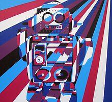 Robot No3 by Annagarside