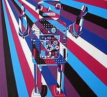 Robot No4 by Annagarside