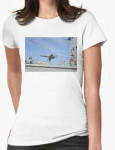 Vintage Oerlikon Gun Womens Fitted T-Shirt