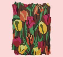 Tulips One Piece - Long Sleeve