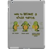 Become a Ninja Turtle iPad Case/Skin
