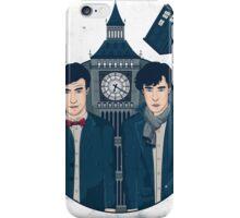 Doctor Who & Sherlock iPhone Case/Skin