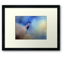 When Things Get Hot Framed Print