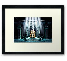 King Arthur and the Holy Grail Framed Print