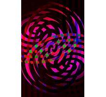 swirly fight Photographic Print
