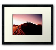 Sahara Nights Framed Print