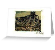 Derelict Train Station - Barrel #2 Greeting Card