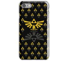 Hy and Lo rule -black- iPhone Case/Skin