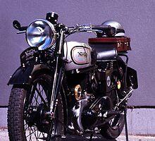 1935 Norton 633cc Sidevalve by Brett Rogers