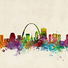 St Louis Missouri Skyline by Michael Tompsett