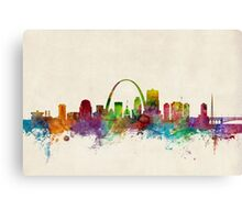 St Louis Missouri Skyline Canvas Print