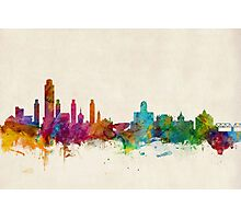 Albany New York Skyline Photographic Print