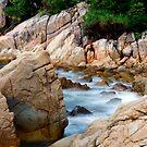 Rocky Seaside by Steven  Siow